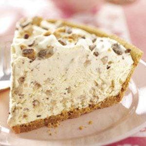 Frosty Toffee Bits Pie Recipe