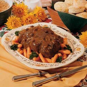 Spiced Pot Roast Recipe