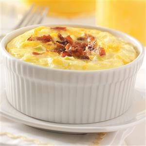 Apple-Bacon Egg Bake Recipe