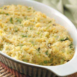 Rice Broccoli Casserole Recipe