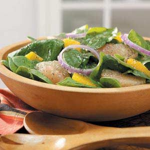 Spinach Citrus Salad Recipe