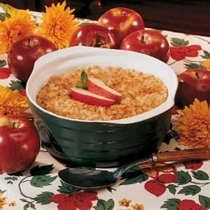 Grandma's Apples and Rice Recipe