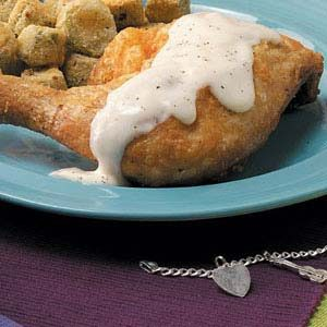 Chicken with Country Gravy Recipe