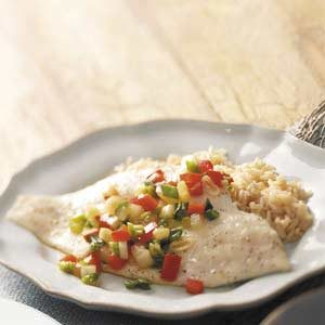 Flounder Packets Recipe