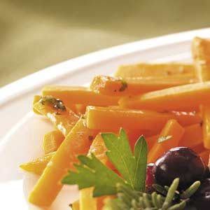 Carrots with Rosemary Butter Recipe