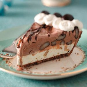 Minty Ice Cream Pie Recipe