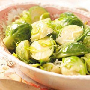 Brussels Sprouts with Leeks Recipe