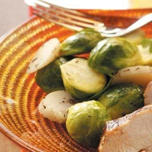 Spruced-Up Sprouts Recipe