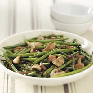 Asian Grilled Green Beans Recipe
