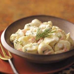 Tortellini with Salmon-Ricotta Sauce Recipe