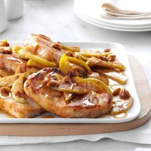 Cinnamon-Apple Pork Chops