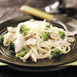 Chicken Broccoli Fettuccine Recipe