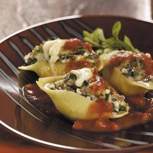 Makeover Cheese-Stuffed Shells Recipe