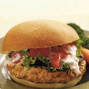 Mexican-Inspired Turkey Burgers Recipe