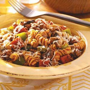 Pizza Pasta Toss Recipe