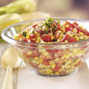 Contest-Winning Tomato Corn Salad Recipe