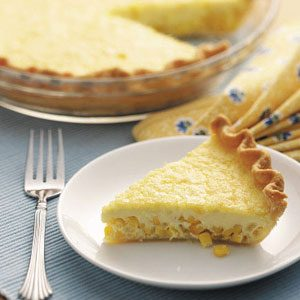 Golden Corn Quiche Recipe