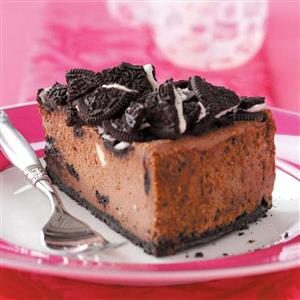 Chocolate Sandwich Cookie Cheesecake Recipe