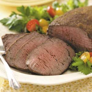 Chipotle-Rubbed Beef Tenderloin Recipe