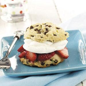 Chocolate Chip Strawberry Shortcakes Recipe
