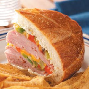 Ham & Cheese Sandwich Loaf Recipe