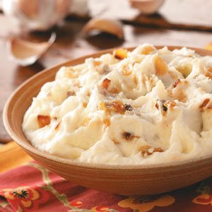 Texas Garlic Mashed Potatoes