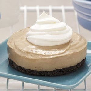 Frozen Mocha Cheesecakes