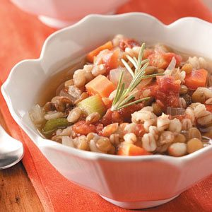 Homemade Lentil Barley Stew Recipe