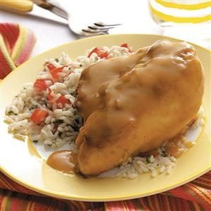 Lemon Chicken with Rice Recipe
