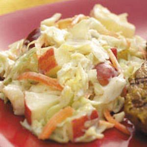 Crunchy Fruit Coleslaw Recipe