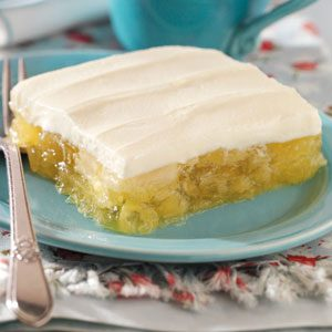 Frosted Pineapple Lemon Gelatin Recipe