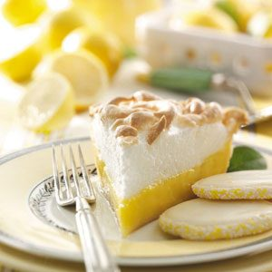 Lemonade Meringue Pie