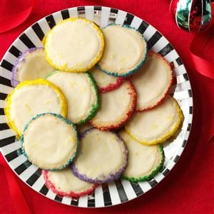 Slice 'n' Bake Lemon Gems Recipe