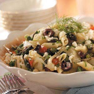 Asparagus-Fennel Pasta Salad Recipe