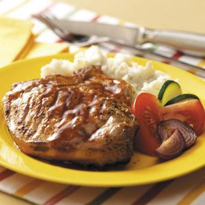 Contest-Winning Barbecued Pork Chops Recipe