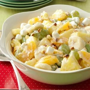 Ambrosia Fruit Salad Recipe