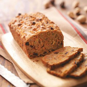 Raisin Whole Wheat Quick Bread Recipe