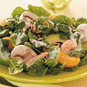 Spinach Salad with Shrimp Recipe