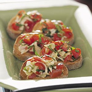 Greek Bruschetta Recipe