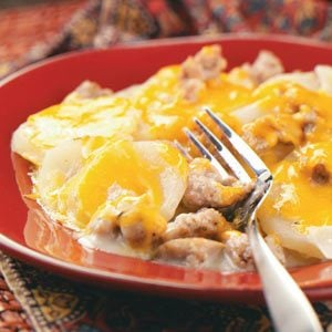 Sausage Potato Casserole Recipe