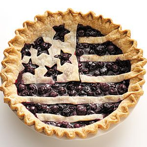 American Flag Berry Pie Recipe