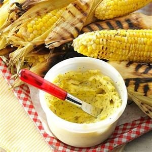Corn on the Cob with Lemon-Pepper Butter