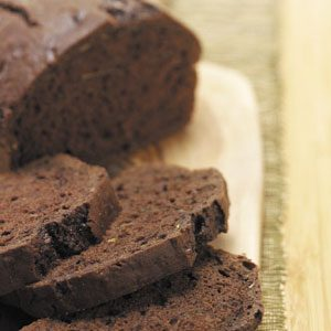 Makeover Chocolate Zucchini Bread