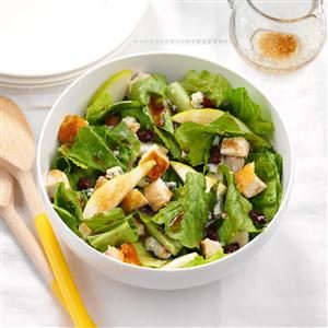 Pear Chicken Salad with Maple Vinaigrette Recipe