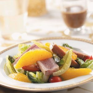 Tuna Salad with Basil Dressing Recipe