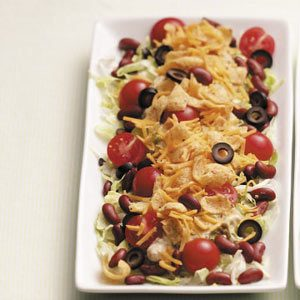 Meatless Taco Salad Recipe