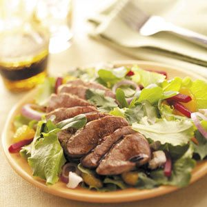 Mandarin Pork Salad Recipe