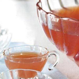 Rosy Rhubarb Punch Recipe
