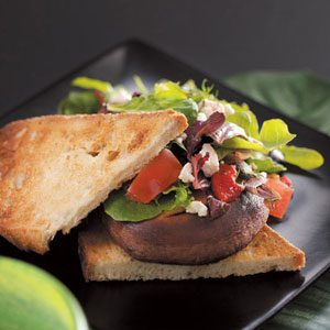 Mediterranean Salad Sandwiches Recipe