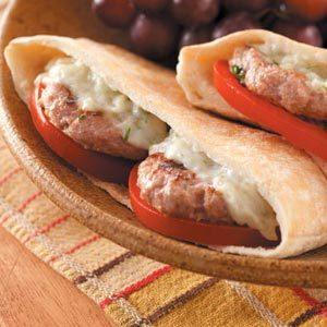 Mini Greek Burgers Recipe